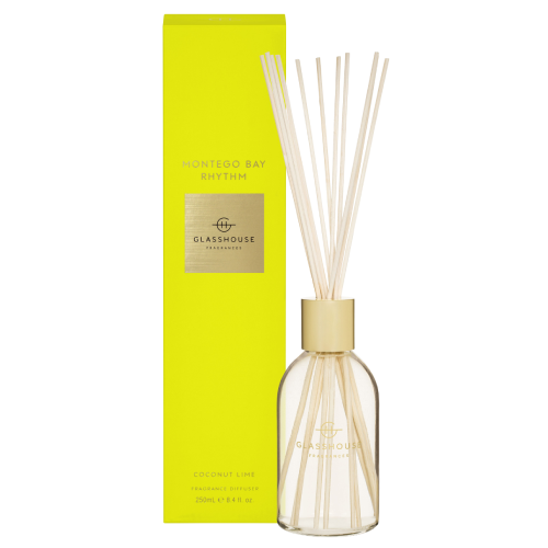 Glasshouse MONTEGO BAY RHYTHM Diffuser 250ml by Glasshouse Fragrances
