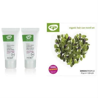 Green People Hair Care Travel Set - Intensive Repair