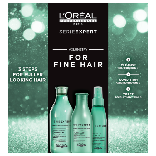 L'Oreal Professionnel Serie Expert Volumetry Trio by L'Oreal Professionnel