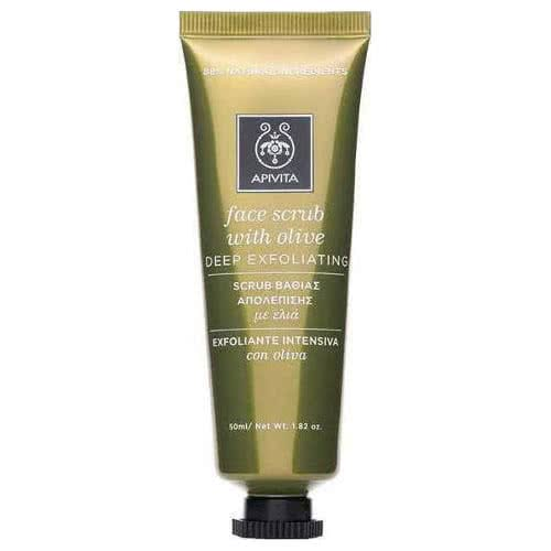 APIVITA Cleansing Exfoliating Face Cream - Olive and Lavender by APIVITA