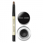 Bobbi Brown Long-Wear Gel Eyeliner in Black Ink 1.5G & Mini Ultra Fine Eye Liner Brush