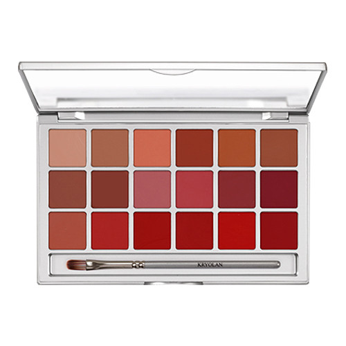 Kryolan Lip Sheer 18 Palette by Kryolan