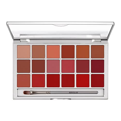 Kryolan Lip Sheer 18 Palette by Kryolan Professional Makeup