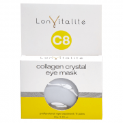 Lonvitalite C8 Collagen Crystal Eye Sheet Masks - 6 Pack