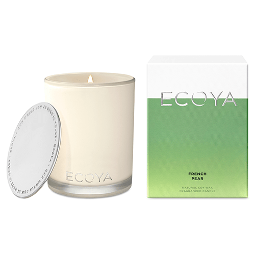 Ecoya Madison Jar Fragranced Candle - French Pear  by Ecoya