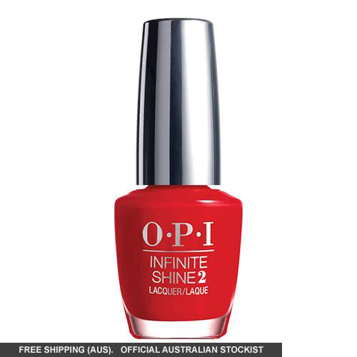 OPI Infinite Nail Polish - Unequivocally Crimson by OPI color Unequivocally Crimson