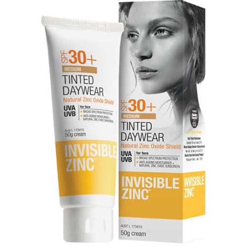 Invisible Zinc Tinted Daywear SPF30+ by Invisible Zinc