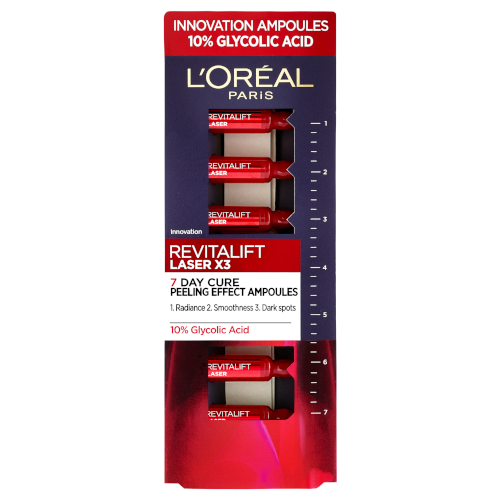 L?Oréal Paris Revitalift Laser X3 Glycolic Acid Peeling Effect Ampoules by L'Oreal Paris