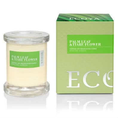 Ecoya Metro Jar Candle - Palm Leaf & Tiare Flower