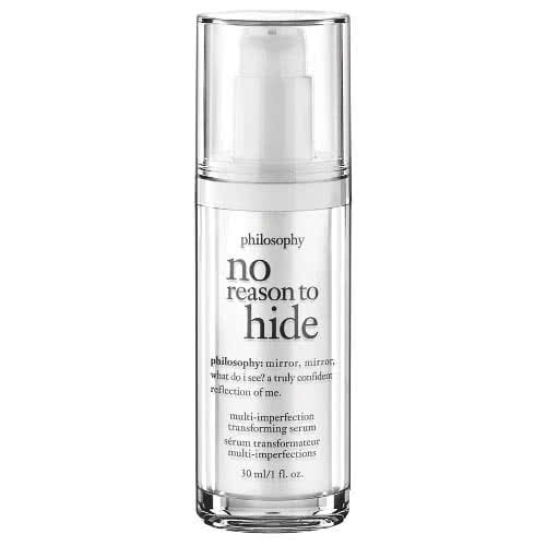 philosophy no reason to hide multi-imperfection transforming serum by philosophy