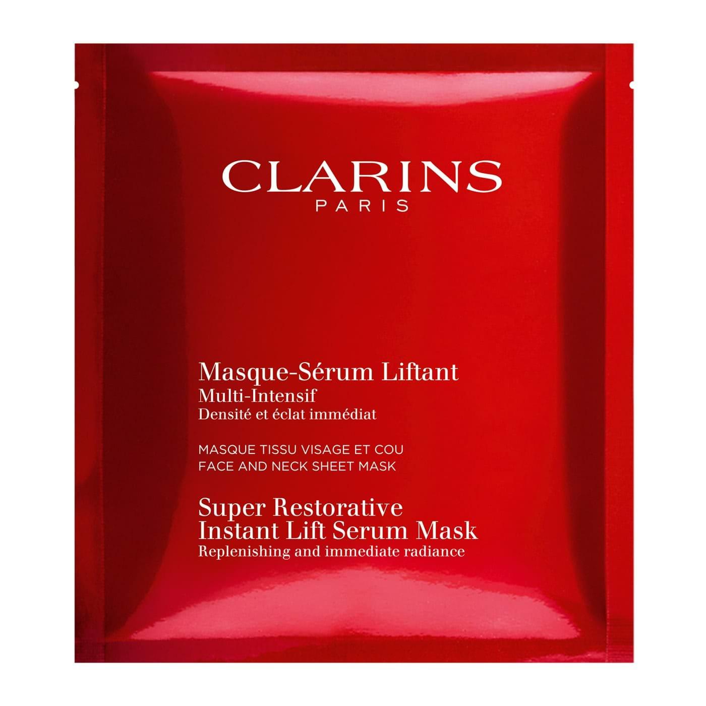 Super Restorative Instant Lift Serum Mask by Clarins #17