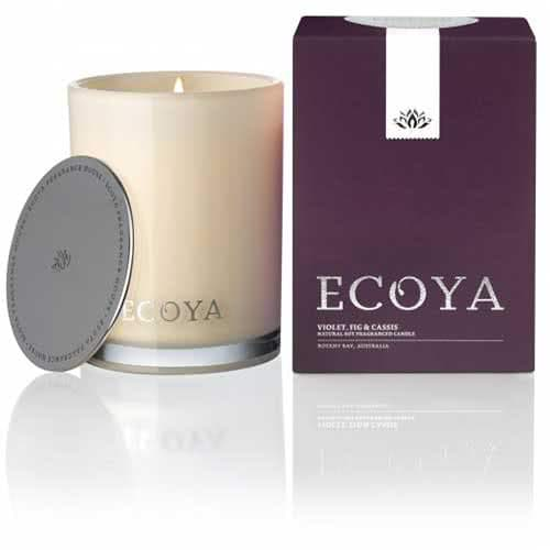 Ecoya Violet, Fig & Cassis Limited Edition Madison Jar Candle by Ecoya