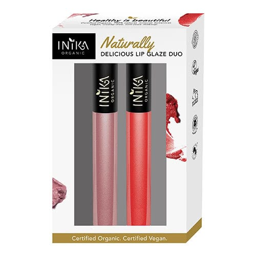 INIKA Naturally Delicious Lip Glaze Duo by Inika