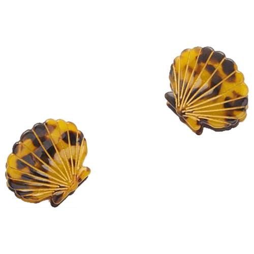 Valet Ursula Shell Clip Duo - Tortoiseshell