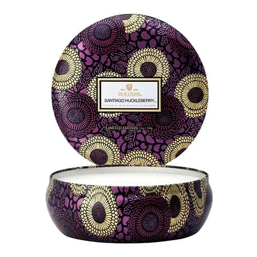 Voluspa Santiago Huckleberry 3 Wick Candle by Voluspa