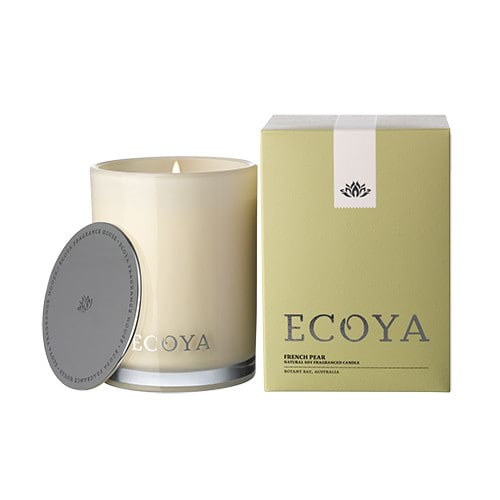 Ecoya Madison Jar Fragranced Candle - French Pear