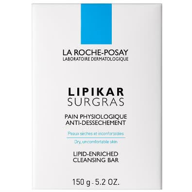 La Roche-Posay Lipikar Surgras: Cleansing Bar