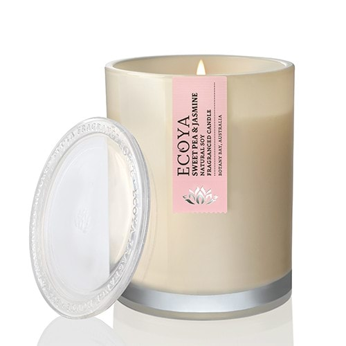 Ecoya Metro Jar Candle - Sweet Pea & Jasmine
