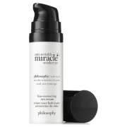 philosophy anti-wrinkle miracle worker + line-correcting eye cream 15ml