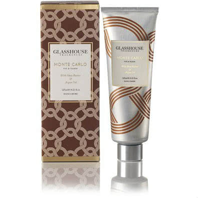 Glasshouse Monte Carlo Hand Creme - Fig & Guava by Glasshouse Fragrances