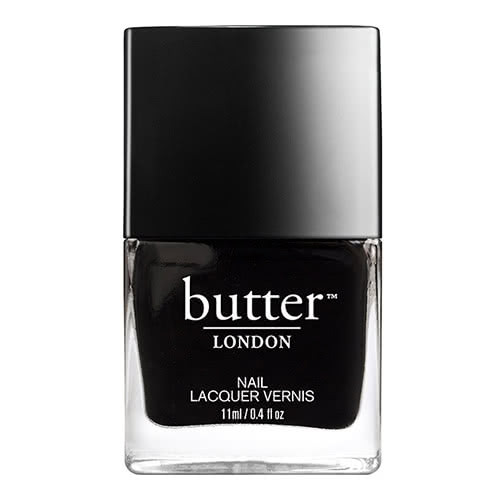 butter LONDON Union Black Jack Nail Polish