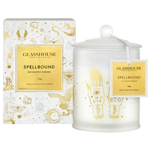 Glasshouse Spellbound Candle - Enchanted Embers 350g