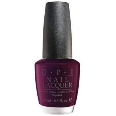OPI Nail Lacquer - India Collection-Black Cherry Chutney (Shimmer)