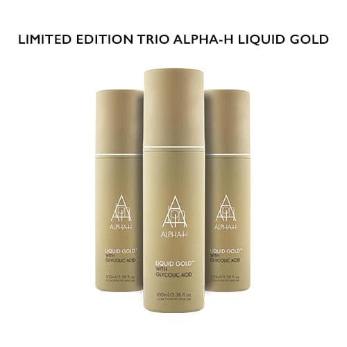 Alpha-H Holiday Collection Liquid Gold Trio by Alpha-H