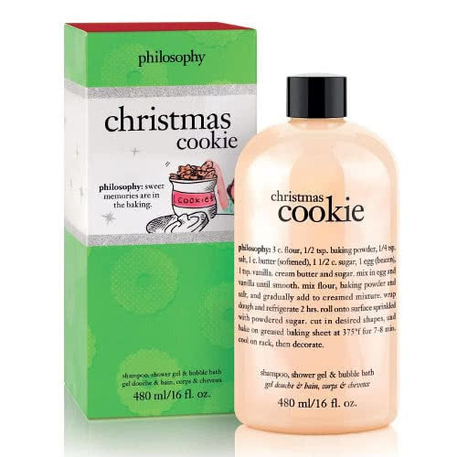 philosophy shampoo bath & shower gel - christmas cookie by philosophy