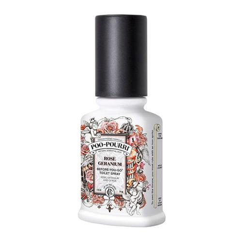 Poo Pourri Rose Geranium Toilet Spray  by Poo Pourri
