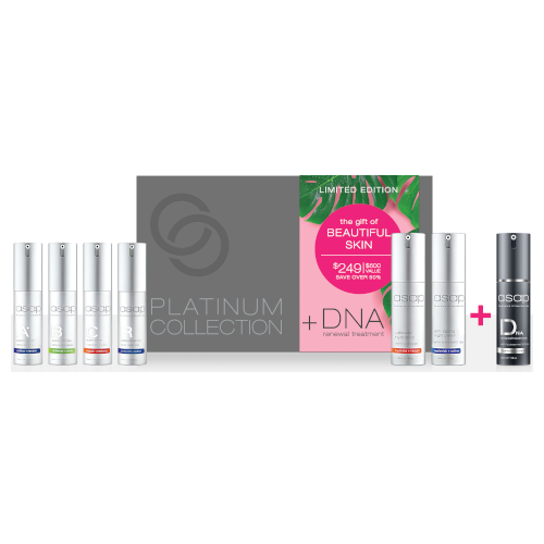 asap limited edition platinum collection + DNA Renewal by asap