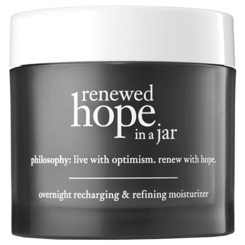 philosophy renewed hope in a jar overnight recharging & refining moisturiser by philosophy