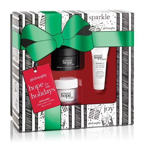 philosophy hope for the holidays kit by philosophy
