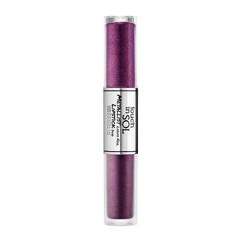 Touch In Sol Metallist Foil Lipstick Duo by Touch In Sol