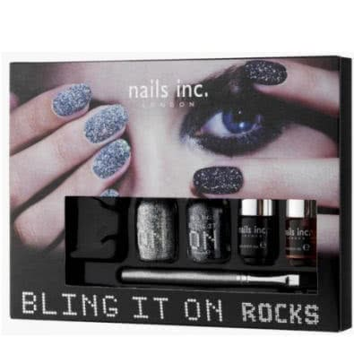 nails inc. BLING IT ON ROCKS Nail Art Kit
