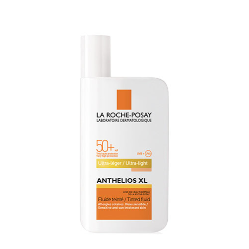 La Roche-Posay Anthelios XL Ultra-Light Fluid Tinted Facial Sunscreen SPF50+