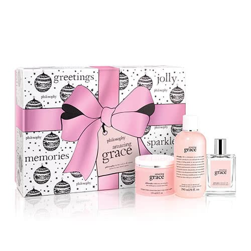 philosophy amazing grace layering set by philosophy