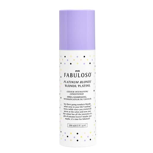 evo fabuloso platinum blonde colour intensifying conditioner by evo