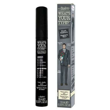 theBalm What's Your Type - Mascara Tall Dark and Handsome - Tall Dark and Handsome