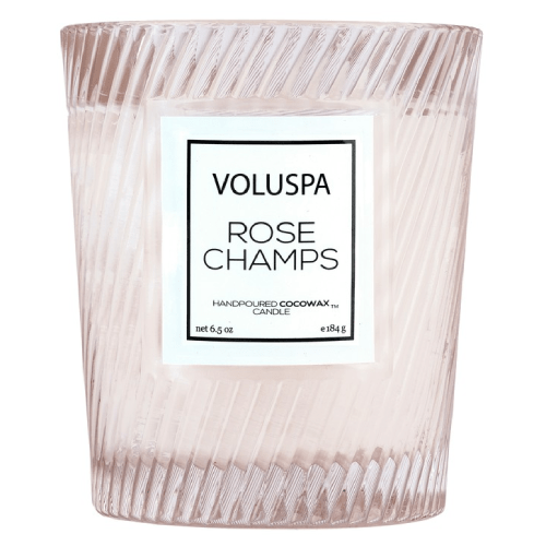 Voluspa Rose Champs Classic Candle - 40 hour burn by Voluspa