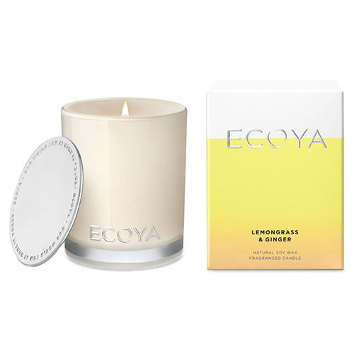 Ecoya Mini Madison Jar Candle - Lemongrass & Ginger by Ecoya
