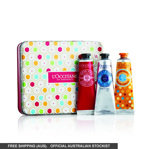 L'Occitane Shea Hand Cream Trio by loccitane