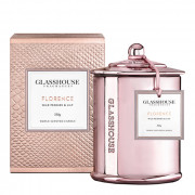 Glasshouse Florence Candle - Wild Peonies & Lily 350g by Glasshouse Fragrances