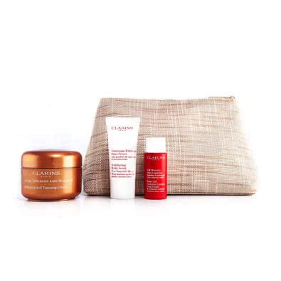 Clarins Smart Self Tanning For a Healthy Summer Glow Set