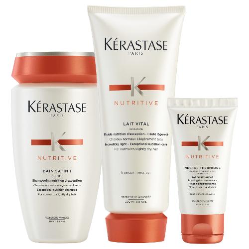 K rastase 123 nutritive pack reviews free post for Kerastase bain miroir reviews