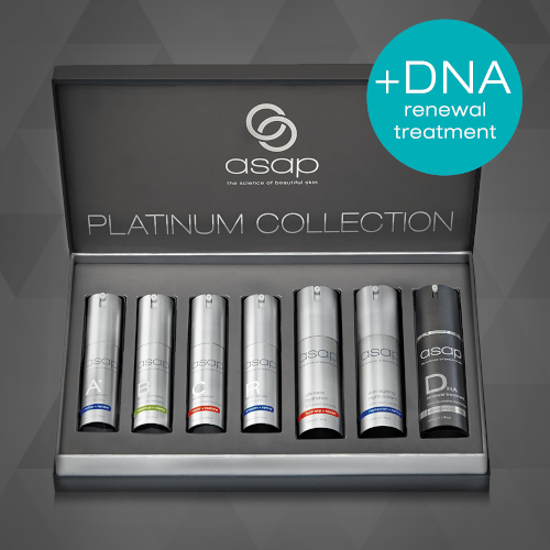 asap limited edition platinum collection + DNA Renewal