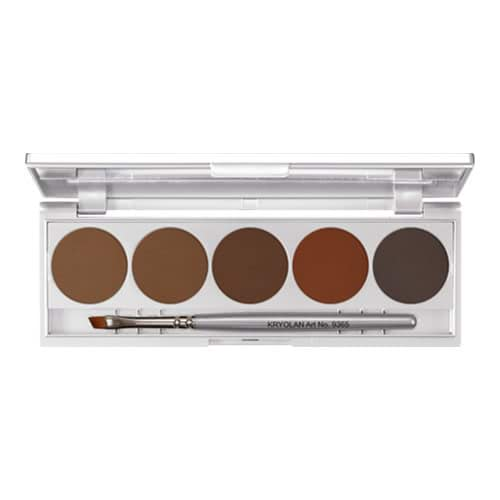 Kryolan Eyebrow Powder 5 Palette by Kryolan