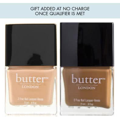 butter LONDON VIP Event Choose Your Gift With Purchase