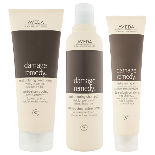 Aveda Damage Remedy Kit with Full-Size Shampoo and Conditioner by AVEDA