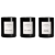 Urban Apothecary 3 x 70g  Rose Voile, Bay Berry & Smoked Leather